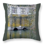 Power House Station Throw Pillow