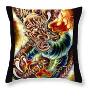 Power Of Spirit Throw Pillow