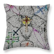 Power Of The Cross Throw Pillow