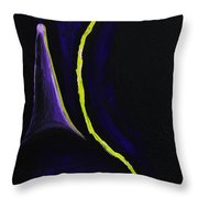 Power Of The Night Throw Pillow