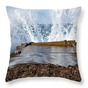 Power Of The Sea Throw Pillow