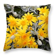 Power Of Yellow Throw Pillow