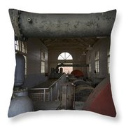 Power Production Throw Pillow