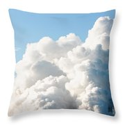 Power Station Plumes. Throw Pillow
