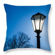 Powered By The Sun - Featured 3 Throw Pillow