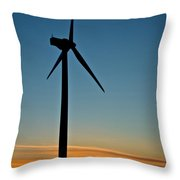 Powerful Sunrise Throw Pillow