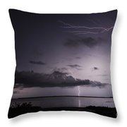 Powerful Tranquility Throw Pillow