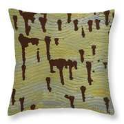 Powerful Wind Throw Pillow