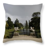 Powers Court Gardens - Ireland Throw Pillow
