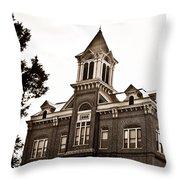 Powhatan Court House 2 Throw Pillow