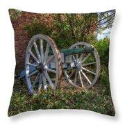 Powis Castle Cannon Throw Pillow