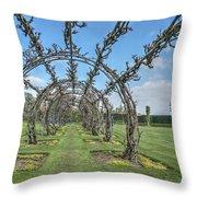 Powis Castle Garden Throw Pillow