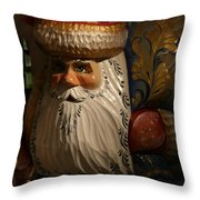 Pozdravlyaus Prazdnikom Rozhdestva Throw Pillow