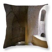 Pozzo San Patrizio/st. Patrick's Well  Throw Pillow by Alan  Socolik