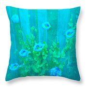 Papaver Orientale 4 Throw Pillow