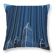Ppg Place Pittsburgh Throw Pillow