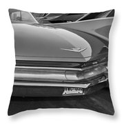 Practicality Be Damned Monochrome Throw Pillow