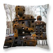Prado Overture Throw Pillow