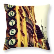 Prague - Hotel Throw Pillow