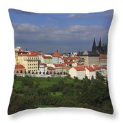 Prague Czech Republic Throw Pillow