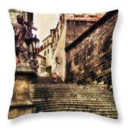 Prague Hradczany Throw Pillow