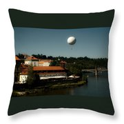 Prague In The Day Throw Pillow