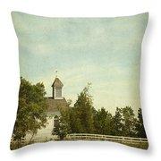 Prairie Church Throw Pillow