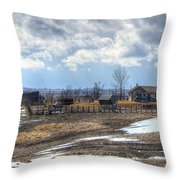Prairie Image Throw Pillow