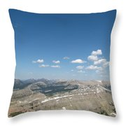 Prairie Reef Lookout North Throw Pillow