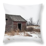 Prairie Silence... Throw Pillow
