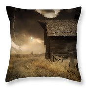 Prairie Storm Throw Pillow