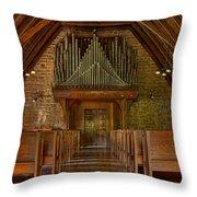 Praise Him In Song Throw Pillow