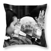 Praise  Throw Pillow