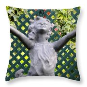 Praising The Lord Throw Pillow