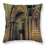 Prayer And Contlemplation Throw Pillow