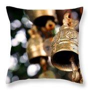 Prayer Bells Throw Pillow