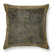 Prayer Flag 201 Throw Pillow