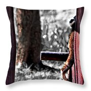 Prayer For The Earth Throw Pillow