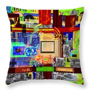 Prayer To Be Saved From The Lust Of Money 4c Throw Pillow