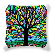 Prayer Tree Throw Pillow