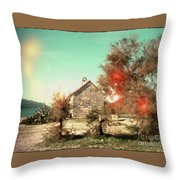 Prayers On Ponta Throw Pillow