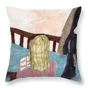 Praying For A Vocation Throw Pillow