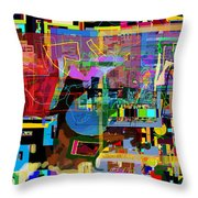 precious is man for he is created in the Divine Image 11 Throw Pillow