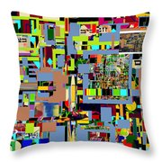precious is man for he is created in the Divine Image 3 Throw Pillow by David Baruch Wolk