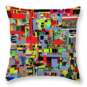 precious is man for he is created in the Divine Image 4 Throw Pillow