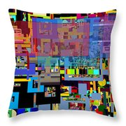 precious is man for he is created in the Divine Image 6 Throw Pillow by David Baruch Wolk