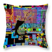 precious is man for he is created in the Divine Image 7 Throw Pillow
