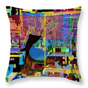 precious is man for he is created in the Divine Image 8 Throw Pillow by David Baruch Wolk