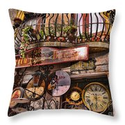 Timeless Moments Throw Pillow