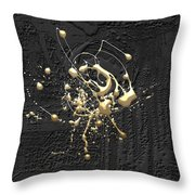Precious Splashes - 4 Of 4 Throw Pillow